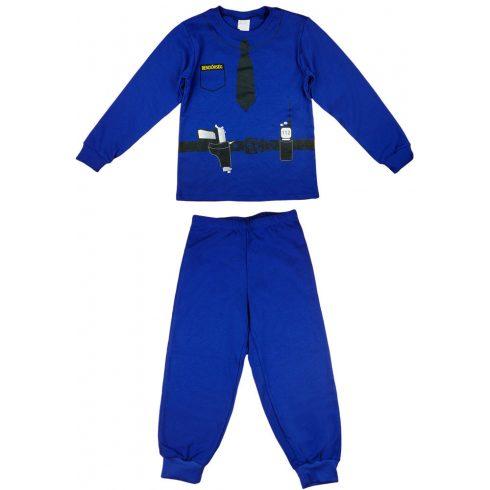 Rendőrös 2 részes fiú pizsama